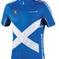 Endura COOLMAX® Printed Scotland Jersey II: Black - M