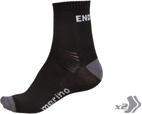 Endura Baabaa Merino Sock (Twin Pack)