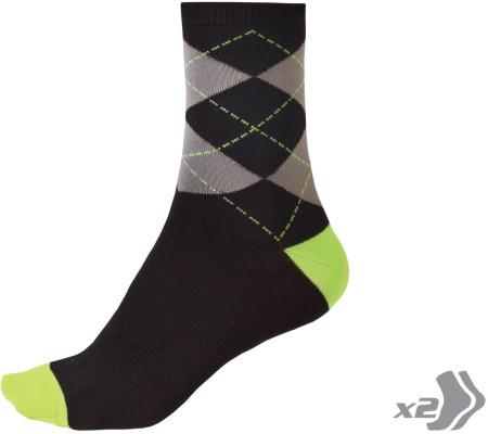Endura Argyll Sock (2 Pack)