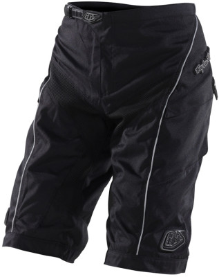 "TroyLee Moto Shorts Black 34"""