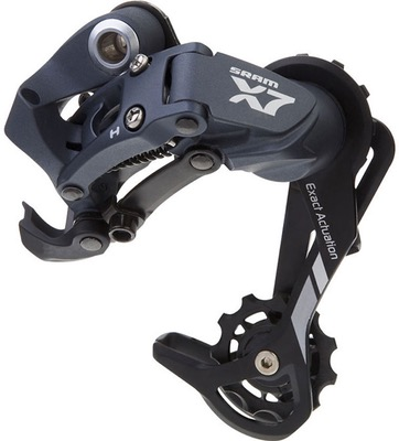 SRAM X7 Rear Derailleur (9spd) Medium Cage Aluminum Storm Grey