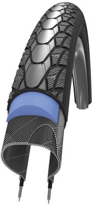 Schwalbe Marathon Plus 700x35c Wired Tyre w/ Smartguard Reflective S/Wall 890g (37-622)