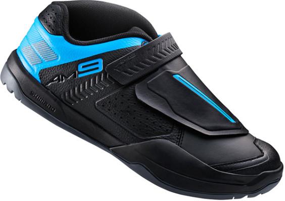 Shimano AM9 SPD shoes, black / blue
