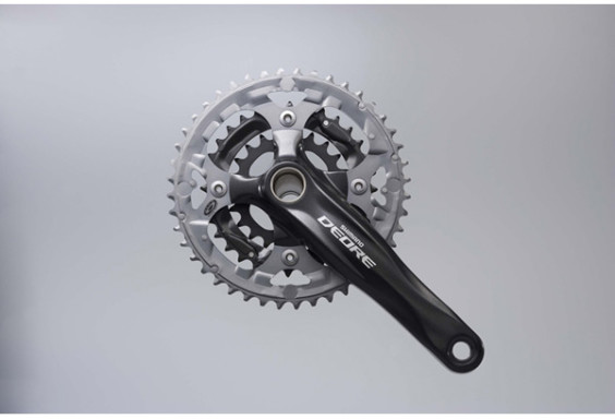 Shimano FC-M590 Deore 2 piece design chainset, 9-speed
