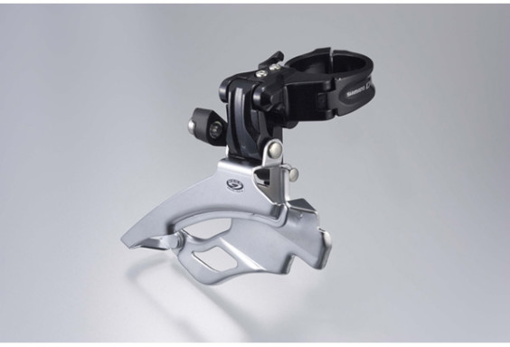 Shimano FD-M590 / FD-M591 Deore front derailleur, dual-pull and multi fit