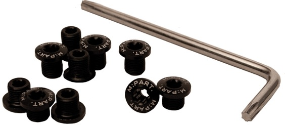 PART M:P Torx 2x5 alloy bolts
