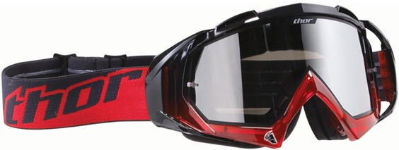 GOGGLE THOR Hero BK / Trans RD