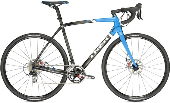 Trek Boone 5 Disc 54cm, Onyx Carbon/True Blue/Trek White