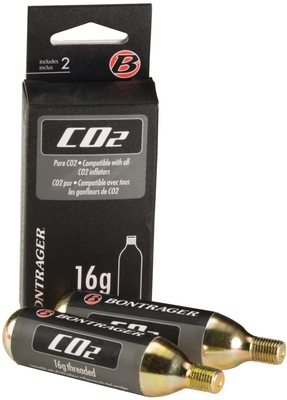 Bontrager 16G Threaded CO₂ Cartridge Tub of 30