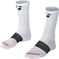 Sock Bontrager Race 5 (13Cm) Cuff Large(43-45) White