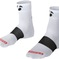 Sock Bontrager Race 2.5 (6cm) Large (43-45) White 3 Pack