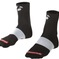 "Sock Bontrager Race 2 1/2"" (6Cm) Cuff Small(37-39) Black 3Pk"