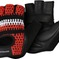 Glove Bontrager Crochet Men Small Red Black