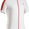 Bontrager Jersey Starvos Small White/Bonty Red