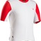 Bontrager Jersey Rxl Summer Large White/Bonty Red