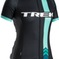 Bontrager Jersey Rl Women'S X-Large Chevron Black/Mint