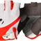 Bontrager Glove Solstice Wsd Medium White/Persimmon