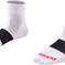 "Sock Bontrager Race 1"""" Small (36-39) White"