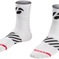 Bontrager Sock Velocis 2.5 Large (43-45) White