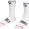 Bontrager Sock Velocis 5 Large (43-45) White