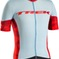 Bontrager Jersey Ballista Medium Powder Blue/Trek Red