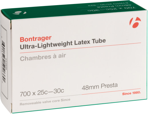 Bontrager Ultra-Lightweight Latex Presta Valve Bicycle Tube