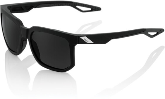 Onehundredpercent Glasses Centric Black C, Red L