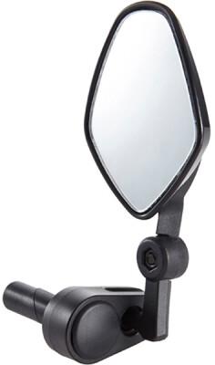 M:Part Commute mirror internal bar-end clamp black