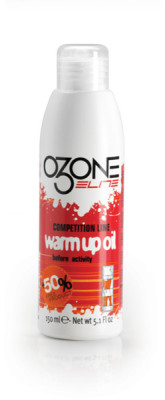 Elite O3one Pre-Competition warm-up oil spray 150 ml bottle