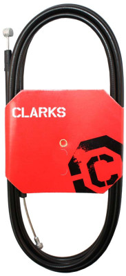 Clarks Universal Galvanised Rear Brake Cable W/2P Black Outer Casing
