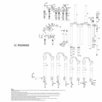 Rock Shox Rockshox Remote Spool/Clamp Kit Moco Sid Rlt 09-11/Reba & Rev Rlt 11-12 (17Mm Pull Damper & Poploc/Pre-2013 Pushloc Only)