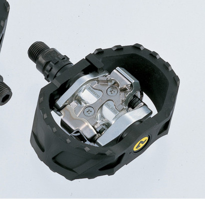 Shimano PD-M424 MTB SPD pedals - pop-up mechanism