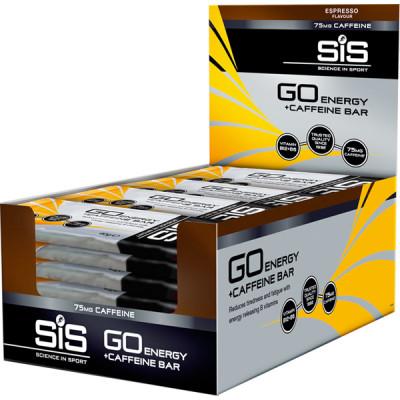 SIS GO Energy Bar + Caffeine - Espresso - box of 30