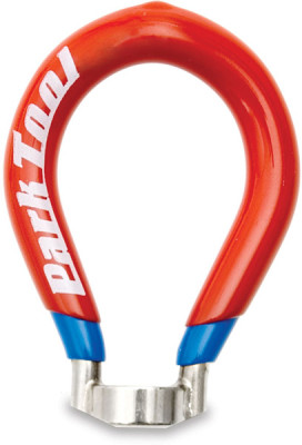 Park Tool SW-42 - Four-Sided Spoke Wrench: 0.136 Inch / 3.45 mm Red