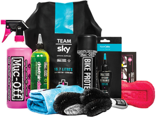 Muc-Off Cleaning Kit Team Sky Kit