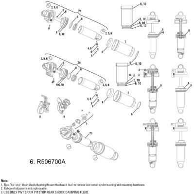 Rock Shox Rockshox Service Kit Ario 10-12