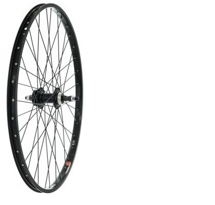 Tru-Build Wheels Rear Disc Wheel Nutted Axle, Screw On Wheel