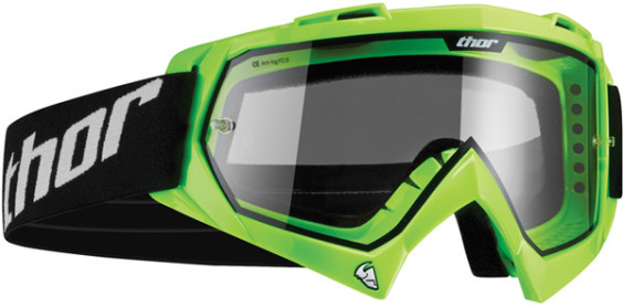 Thor Enemy youth goggle flo-green