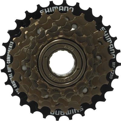 Shimano MF-TZ20 6-speed multiple freewheel, 14-28 T