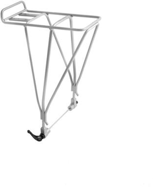 M:Part AX3D disc compatible rear rack with QR - alloy silver