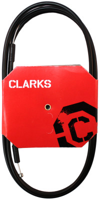 Clarks Universal Ss Gear Cable W/Sp4 Black Outer Casing