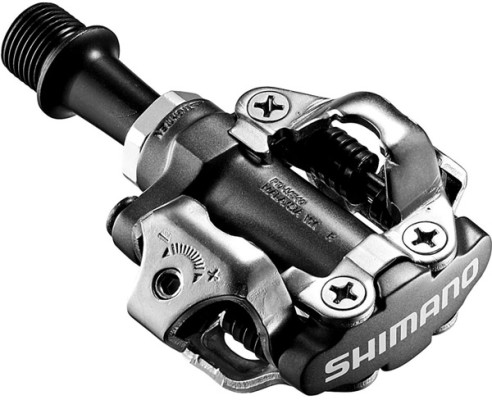 Shimano PD-M540 MTB SPD pedals - two sided mechanism, black