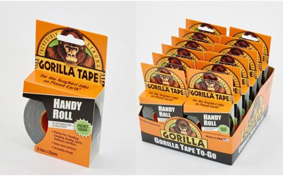 Miscellaneous Wholesale Gorilla Tape Handy Roll 9.1m x 25mm Pk 12