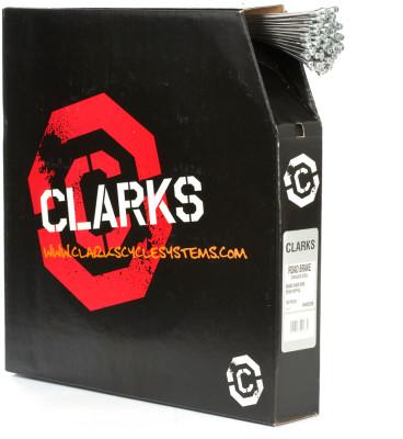 Clarks Road S/S Inner Brake Wire W1.5Mm X L2000Mm Pear Nipple Dispenser Box (100Pcs)