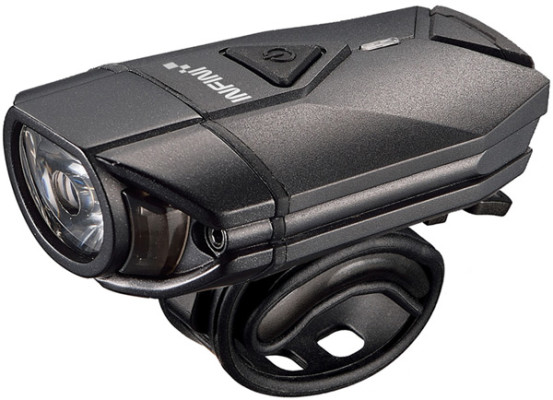 INFINI Super Lava 300 lumen USB front light with bar and helmet brackets