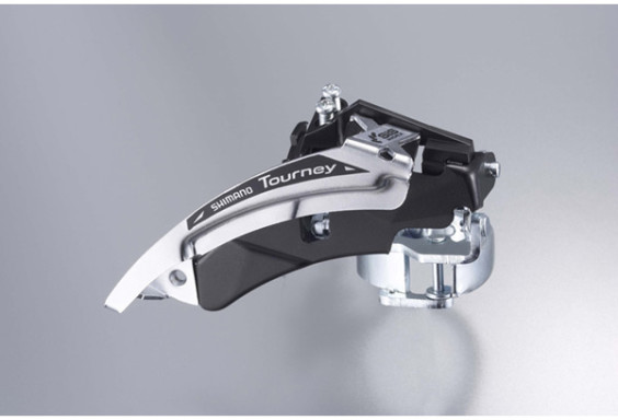 Shimano FD-TX50 MTB front derailleur, top swing, dual-pull and multi fit for 42T