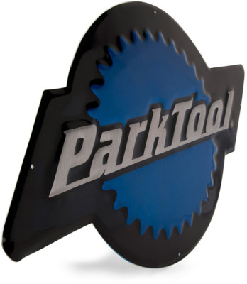 Park Tool MLS-1 - Metal Park Logo Sign