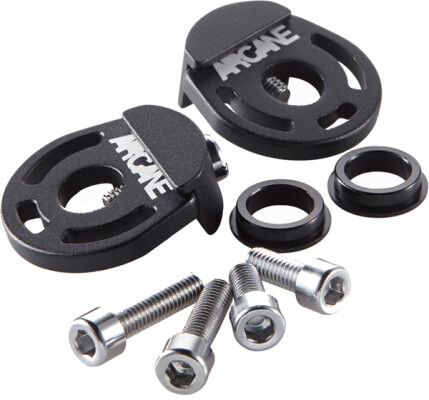 Arcane Solidstate compact alloy chain tensioner black 10/14mm compatible