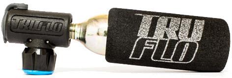 Truflo Minoot CO2 Pump With 16 Gram Cartridge, Presta And Schrader