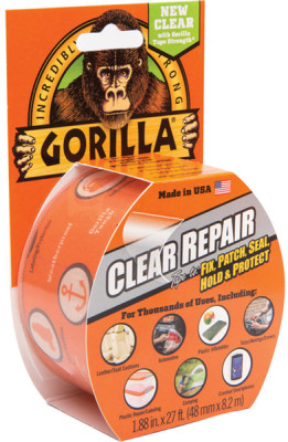Miscellaneous Wholesale Gorilla Clear Repair Tape 8.2m x 48mm Pack of 6
